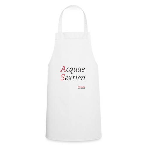ACQUA SEXTIEN - Tablier de cuisine