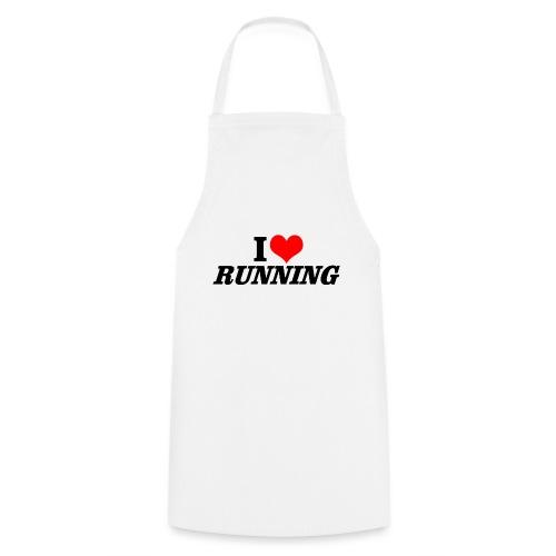 I love running - Kochschürze