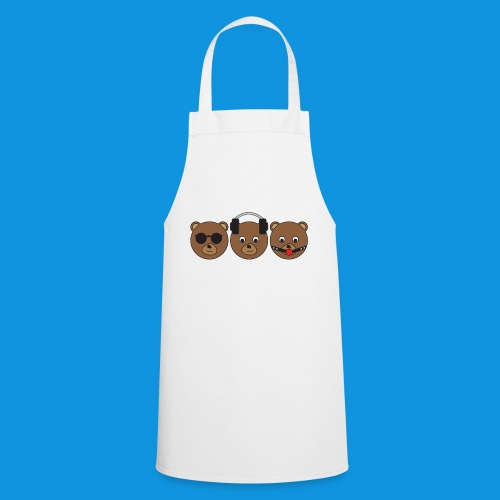 3 Wise Bears - Cooking Apron