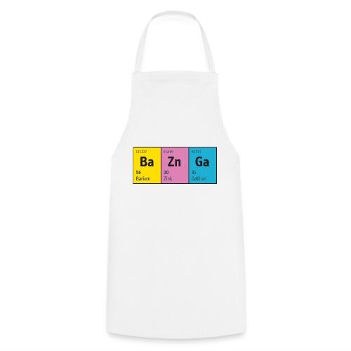 Periodensystem BaZnGa Nerd Geek Big Bang Urknall - Cooking Apron