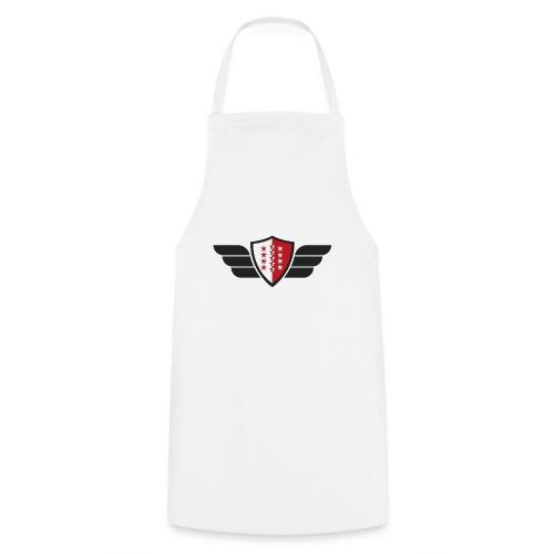 Flying Valais - Walliser Flagge mit Flügeln - Kochschürze