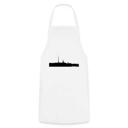Skyline Inselsberg schwarz - Kochschürze