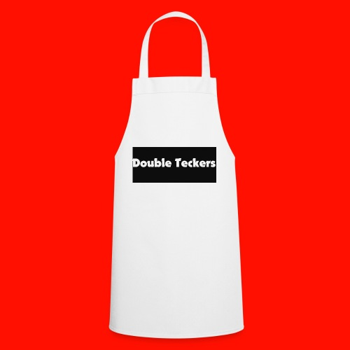 double teckers white top - Cooking Apron