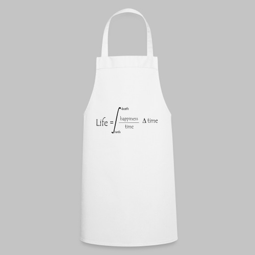 Life equation - Cooking Apron