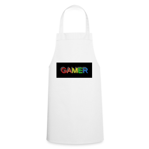 gamer shirt logo - Cooking Apron