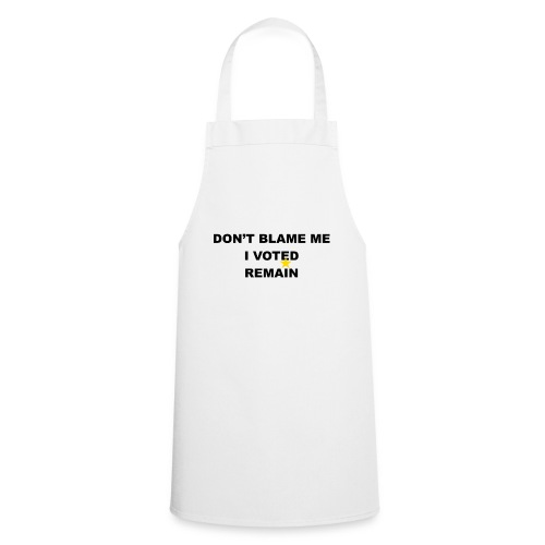 don't blame me 2 - Cooking Apron