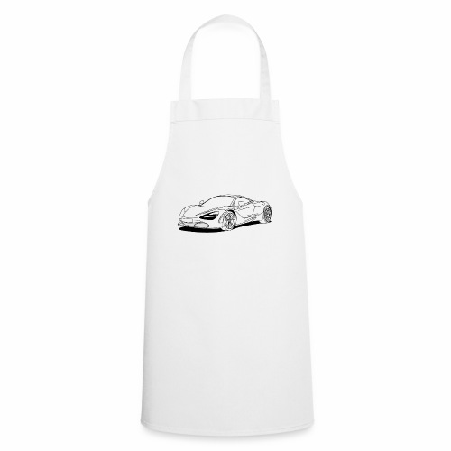 720s Coupe White - Cooking Apron