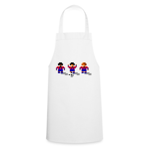 Soccer Red and Blue Stripes - Cooking Apron