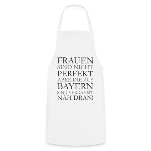 Frauen aus Bayern T-Shirt (Damen/Grau) - Kochschürze