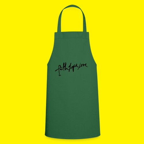 Faith Hope Love - Cooking Apron