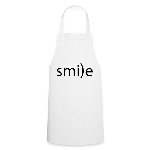 smile Emoticon lächeln lachen Optimist positiv yes - Cooking Apron