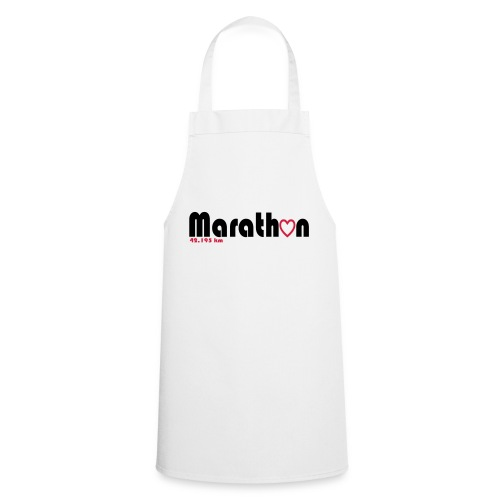 I love marathons - Kochschürze