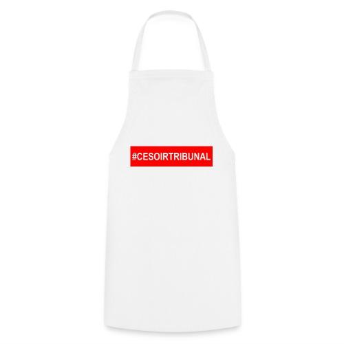 #CeSoirTribunal - Tablier de cuisine