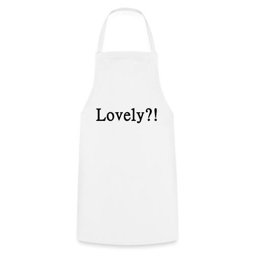 Lovely?! schwarz - Kochschürze