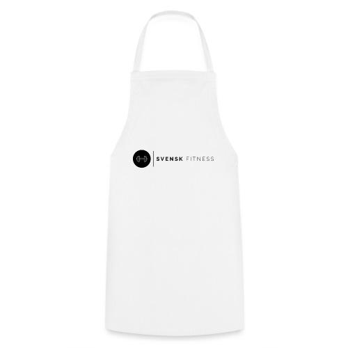Svart logo vertikal dam - Förkläde