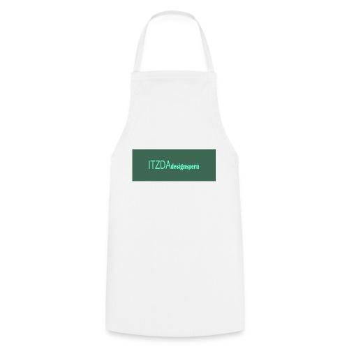 logo face jpg - Delantal de cocina