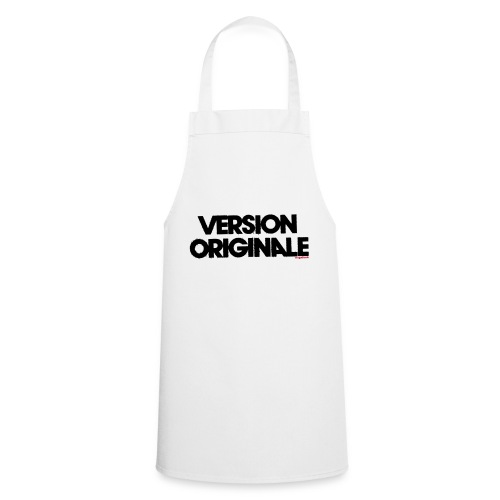 Version Original - Tablier de cuisine