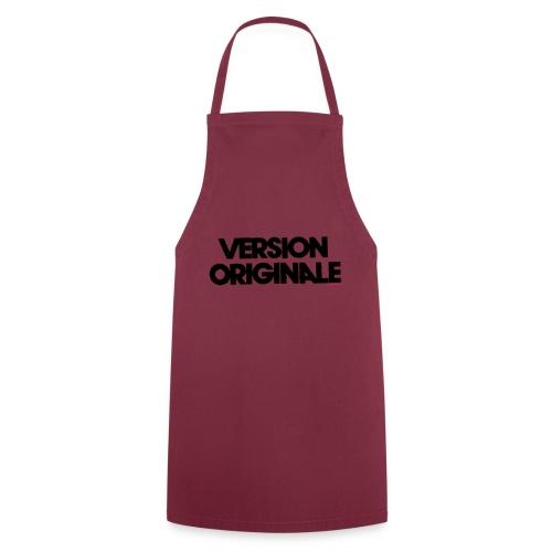 Version Original - Tablier de cuisine