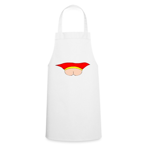 Flying Bum (face on) - no text - Cooking Apron