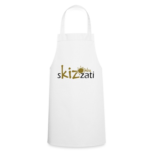Beanie in jersey con logo sKizzati Kizomba - Verde - Grembiule da cucina