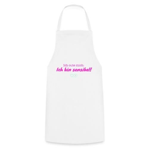 Ich oute mich (pink) - Kochschürze