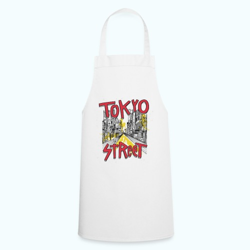 Travel To Tokyo 80s Retro Vintage - Cooking Apron