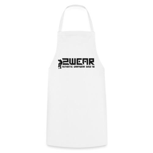 2wear org scrab logo wt √ - Forklæde