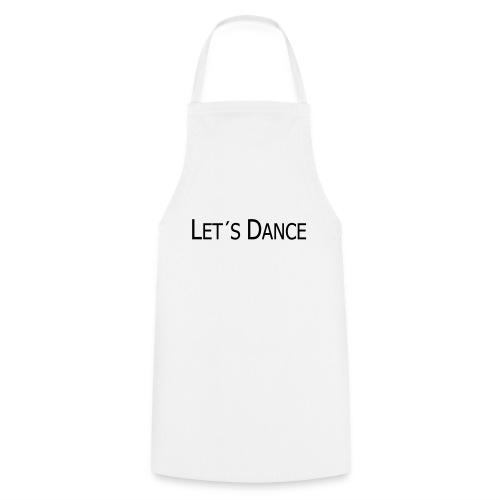 lets dance logo neu schrift 10cm - Kochschürze