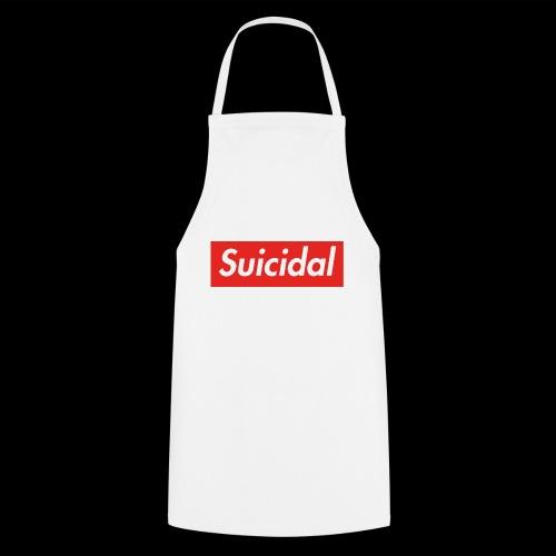 Suicidal Logo.png - Delantal de cocina