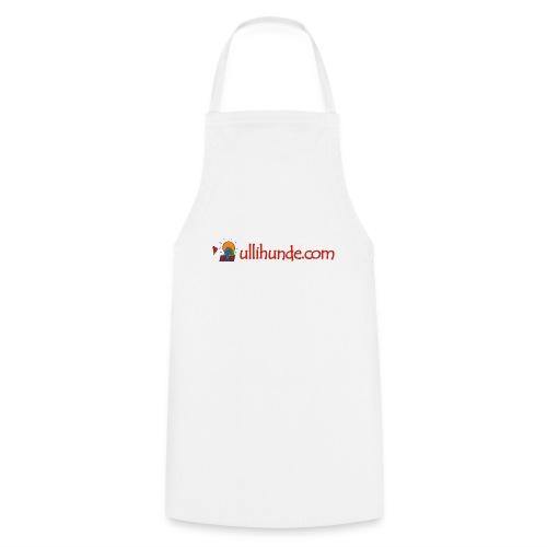 Ullihunde Schriftzug mit Logo - Kochschürze