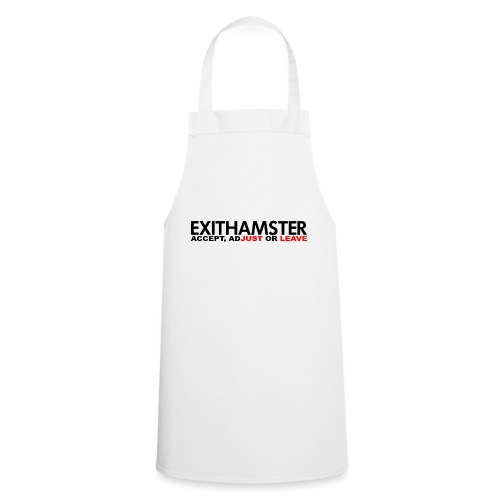 EXITHAMSTER JUST LEAVE png - Cooking Apron