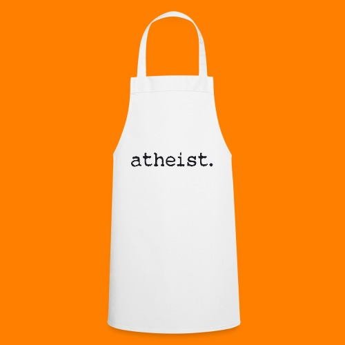 atheist BLACK - Cooking Apron