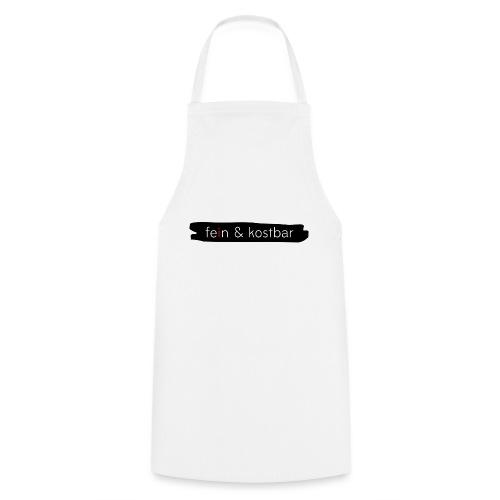 fein & kostbar - Markenlogo - Kochschürze