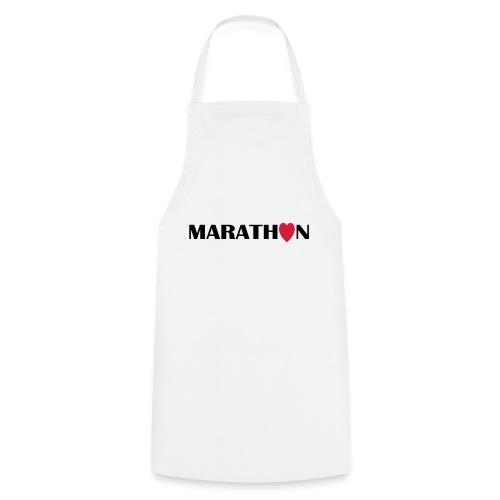 I love Marathon - Kochschürze