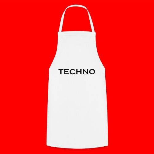 Parts of Life Techno Black - Kochschürze