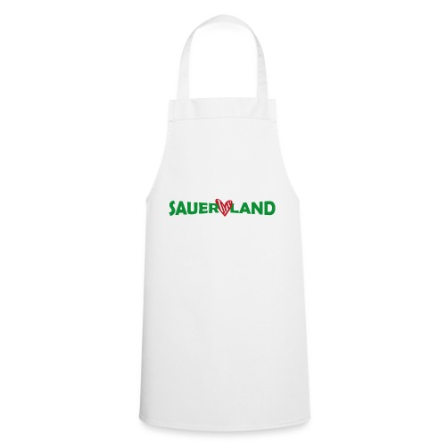 Sauerland Herz - Kochschürze