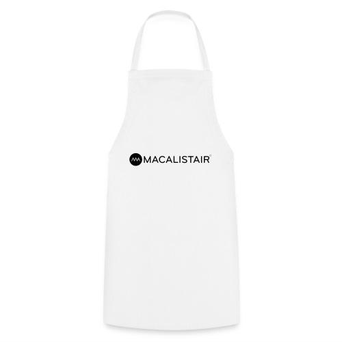 macalistair_logo+tekst - Keukenschort