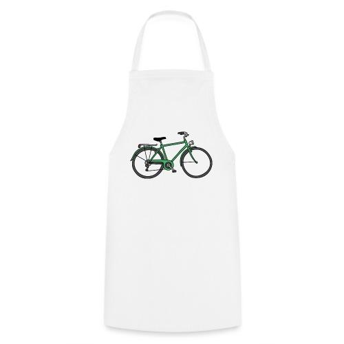 Grünes Fahrrad Bike - Kochschürze