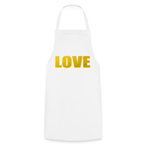 LOVE YELOW - Delantal de cocina