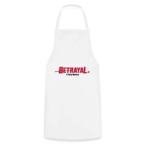 00418 Betrayal logo - Delantal de cocina