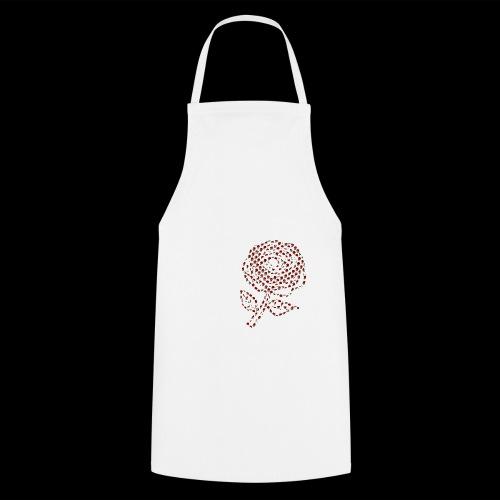 Rose aus Rosen - Kochschürze