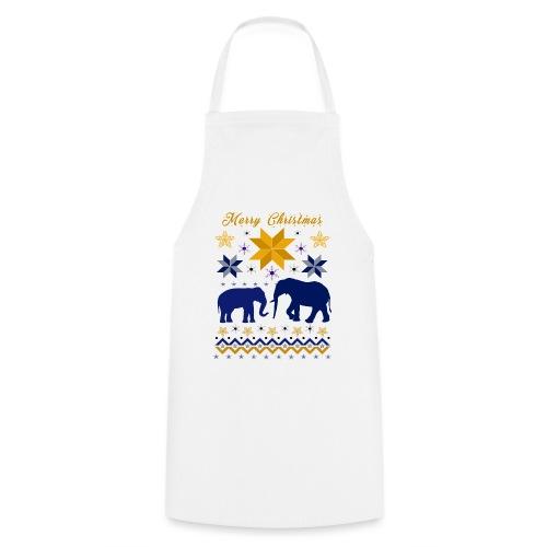 Merry Christmas I Elefanten - Kochschürze