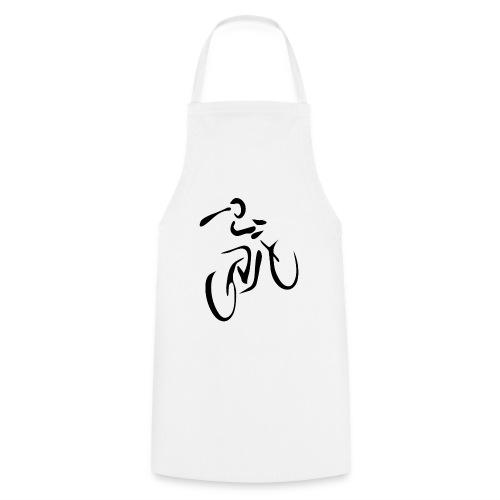 Fahrrad Symbol D schwarz - Kochschürze