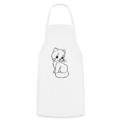 Katzen Symbol Katze süß Kützchen Haustier - Kochschürze