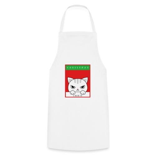 Ik haat kerstmis boze kat - Keukenschort