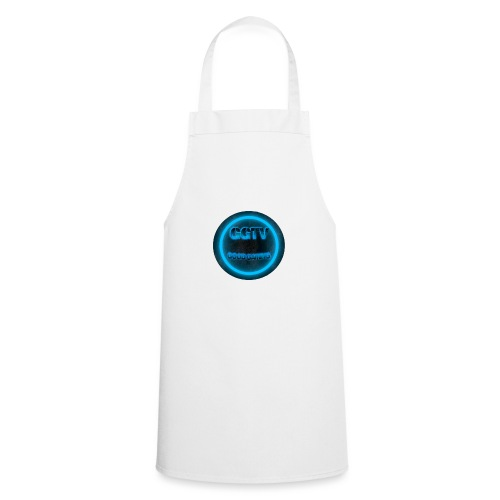 NEW LOGO 1 Blue - Cooking Apron