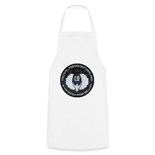 TFS Badge gris - Tablier de cuisine