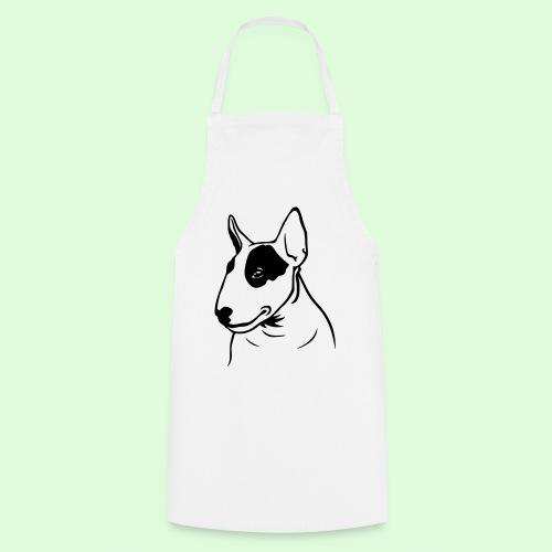 Tête de Bull Terrier - Tablier de cuisine