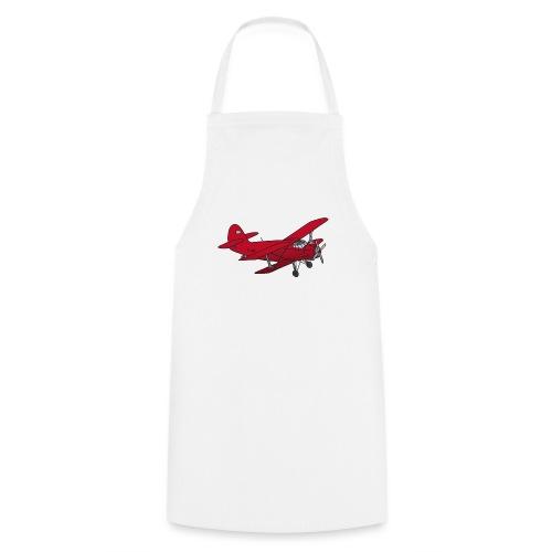 Doppeldecker Flieger rot - Kochschürze