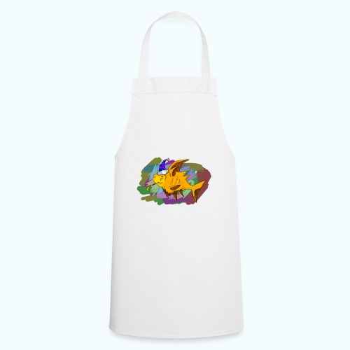 80s comic - Cooking Apron